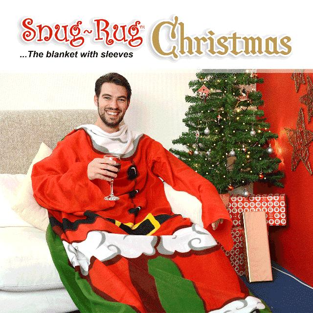 Snug-Rug™ Santa Christmas Blanket