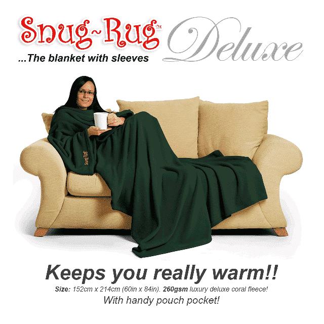Green Snug-Rug™ Deluxe Blanket