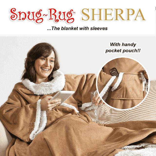 Snug-Rug™ Sherpa Blanket