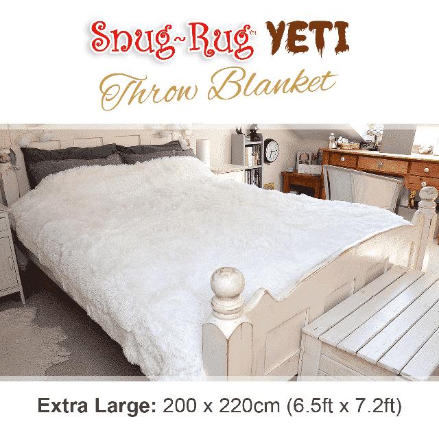 Snug-Rug™ Yeti Throw Blanket