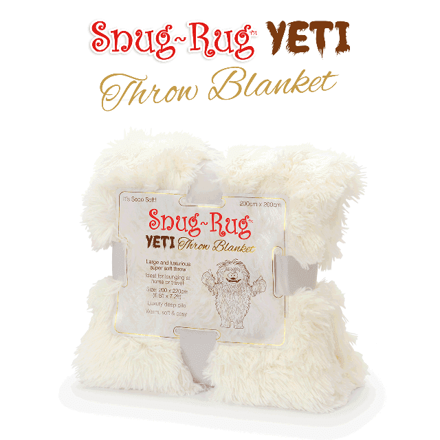 Snug-Rug™ Yeti Throw Blanket